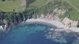 Coast path near Talland Bay