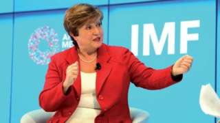Madamu Kristalina Georgieva utegeka ikigega cy'imari ku isi (IMF/FMI)