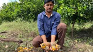 शेतकरी श्रीनिवास थेटे