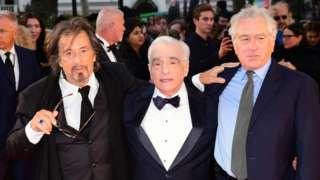 Al Pacino, Martin Scorsese and Robert De Niro at last year's BFI London Film Festival