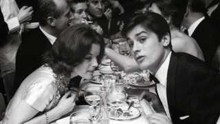 1961年,後來大紅大紫的奧地利演員羅密·施奈德(Romy Schneider)和法國演員阿蘭·德龍(Alain Delon)