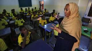 مدرسة في السودان