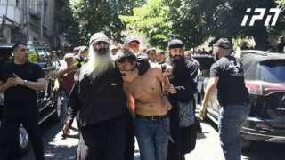 Нападение на журналиста, освещавшего ЛГБТ-шествие в Тбилиси
