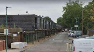 Ramillies Close, Lambeth, a