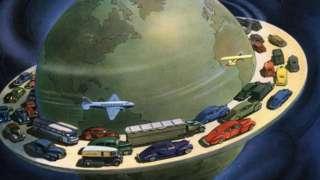 küreselleşme illüstrasyonu