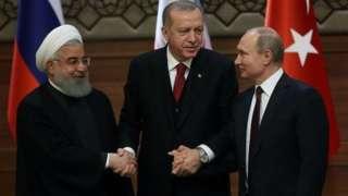 Ruhan, Erdoğan ve Putin