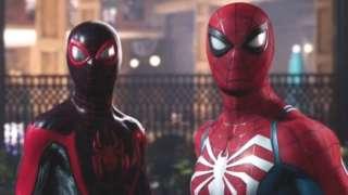 Spiderman 2 screengrab