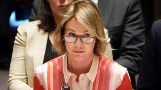 Đại diện của Mỹ tại LHQ, Đại sứ Kelly Craft
