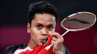 Indonesia, badminton, Anthony Ginting