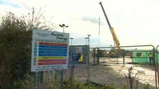 West Newton drilling site