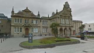 North Somerset Council buildings, Weston-super-Mare, Somerset