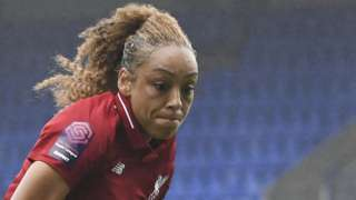 Liverpool's Jess Clarke