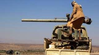 مقاتل يمني