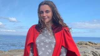 Rhiannon, a student at St Andrews