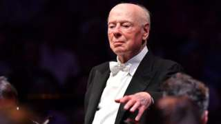 Bernard Haitink performed at the London Proms in 2019