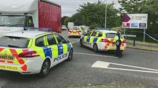 Protest in Runcorn