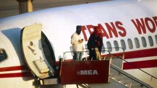 TWA uçağı 1985'te kaçırılmıştı