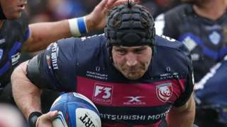 Gloucester's recalled England number eight Ben Morgan