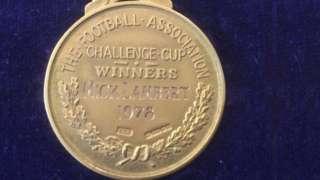 Mick Lambert's FA Cup winner's medal