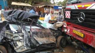 accident photo from Ghana Police Service