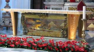 The tomb of San Valentino
