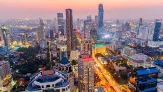 सिंगापूर, विकास, शहरं