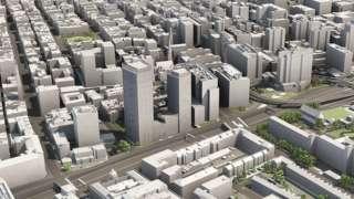 visualisation of building