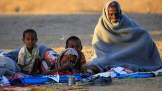 Nearly 50,000 have already crossed the border to neighbouring Sudan.