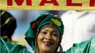 Mali supporter during AFCON 2019 for Suez Stadium Egypt. July 8, 2019