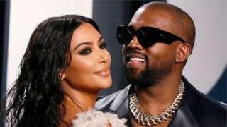 Kim Kardashian West and Her Husband