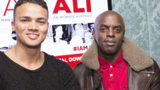 Jermaine Jenas and Trevor Nelson