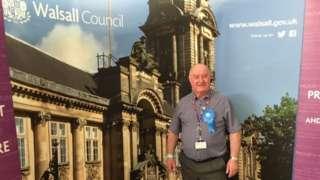 Mike Bird, Walsall Council