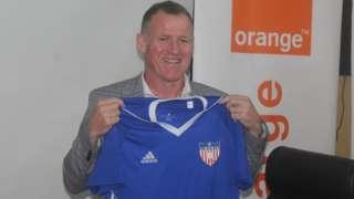 English coach Peter Butler