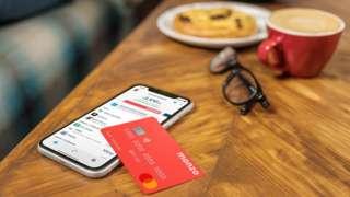 Monzo app and debit card