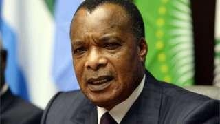 Rais Denis Sassou-Nguesso wa Jamhuri ya Congo (Brazzaville)