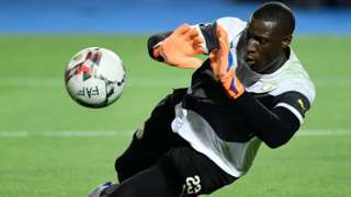 Senegal goalkeeper Alfred Gomis