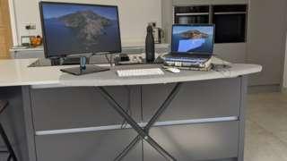 ironing board desk