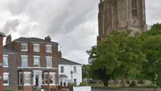 The guest house is located close to Beverley Minster
