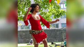 Abderrahim El Habachi dancing