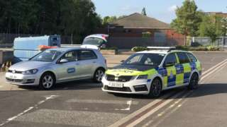 RSPCA at Mansfield Police Station