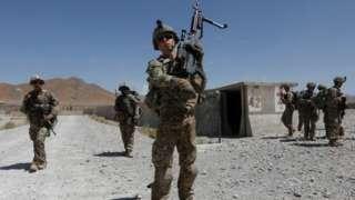Amerika iracyafite abasirikare bagera hafi ku 12,000 muri Afghanistan