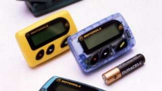 Motorola pagers from 1998