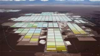 Chile's brine pools