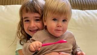 Olivia and Anna