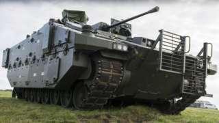 Ajax Armoured Vehicle