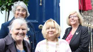 Previous female Lord Mayors