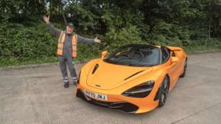 Andrew Olsen with a McLaren 720S Spider
