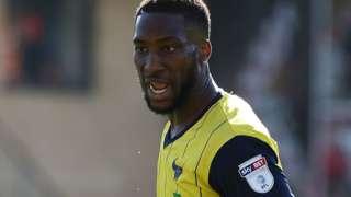 Oxford United defender Chey Dunkley