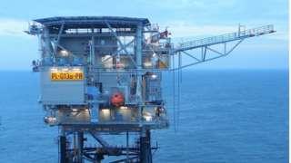Q13a oil platform