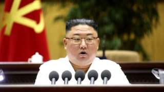 """Mr Kim don refer to foreign speech, hairstyles and clothes as """"dangerous poisons"""""""